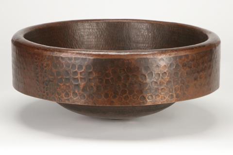 """17"""" Prescenio Copper Vessel Sink by SoLuna"""