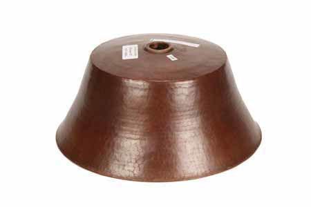 "Picture of 16.5"" Taza Copper Vessel Sink by SoLuna"