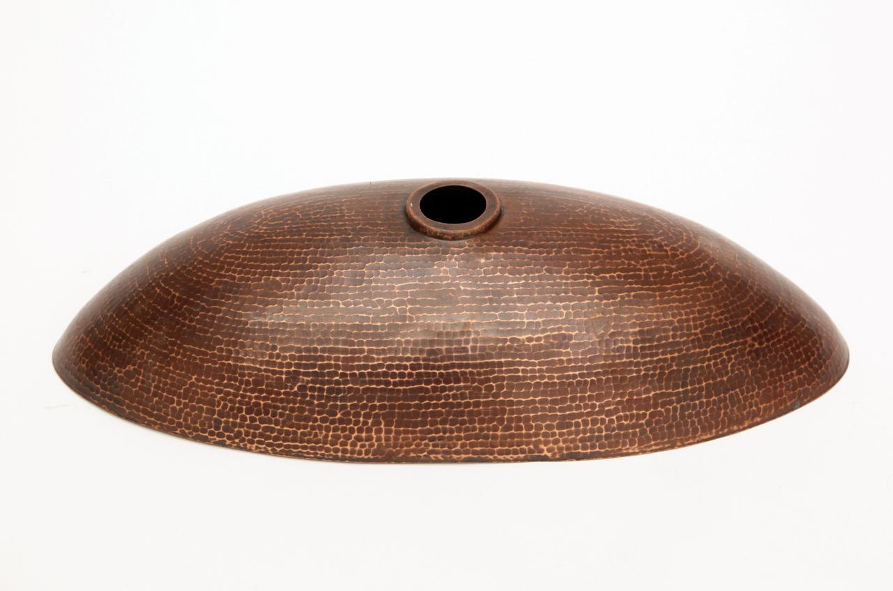 "Picture of 20"" Canoe Copper Vessel Sink by SoLuna"