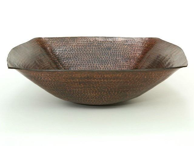 "Picture of 18"" Degas Copper Vessel Sink by SoLuna"