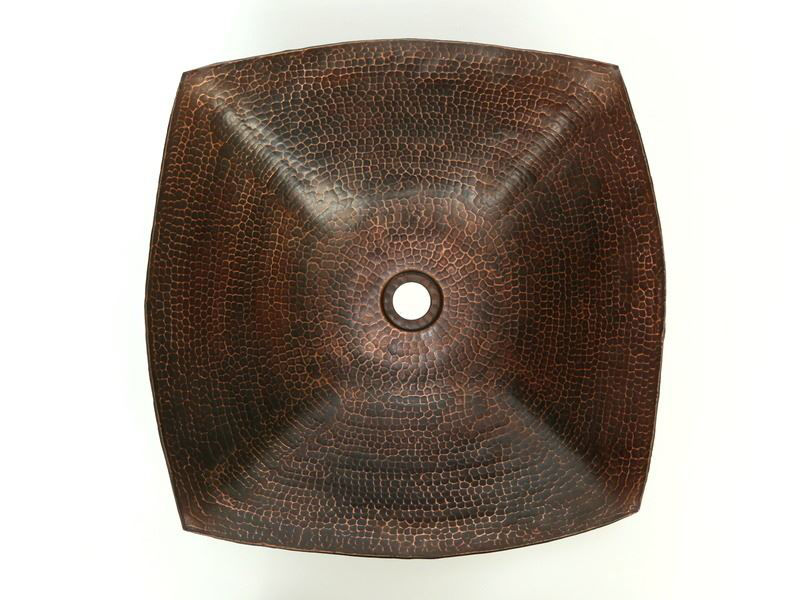 """18"""" Degas Copper Vessel Sink by SoLuna"""