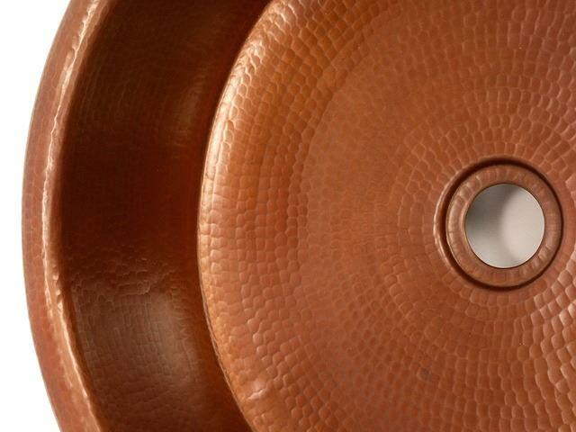 "Picture of 15"" Copper Vessel Sink w/Skirt by SoLuna"