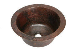 Picture of Round Copper Bar Sink by SoLuna