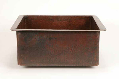 Square Copper Bar Sink by SoLuna