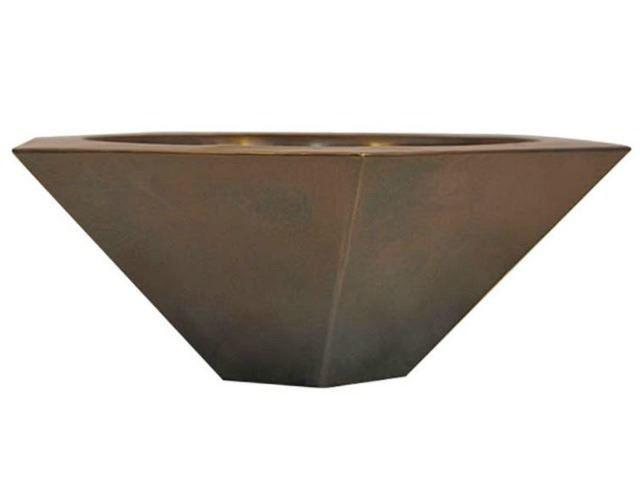 Picture of Hexagonal Copper Vessel Sink by SoLuna