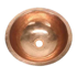 """Picture of 14"""" Round Copper Bathroom Sink by SoLuna"""