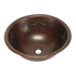 """Picture of 17"""" Round Copper Bathroom Sink - Dragonfly by SoLuna"""