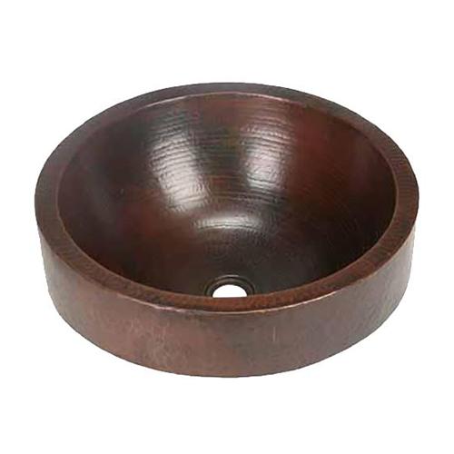 """Picture of 17"""" Prescenio Copper Vessel Sink by SoLuna"""