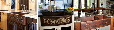 Copper Farmhouse Sinks Apron Front Designs