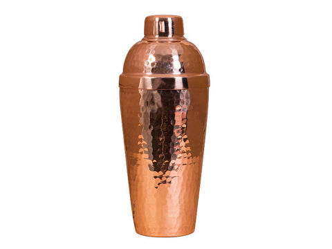 Polished Copper Martini Shaker By Soluna