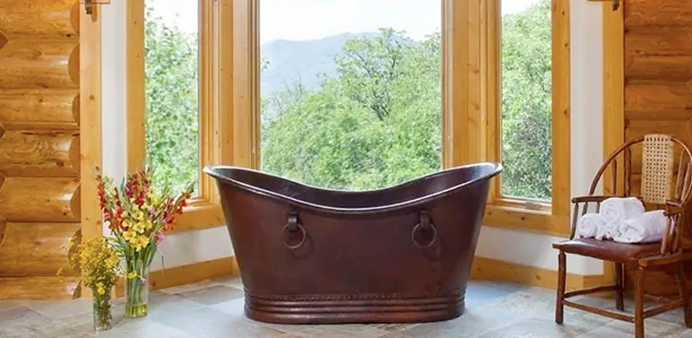 SoLuna Copper Bath Sinks
